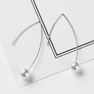 Jewelry - ARRIVED! Faux Pearl Drop Geometric Earrings